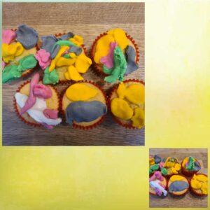 Cay lum (3 years)- Cupcakes