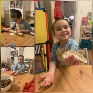 Oscar   (4 years)- Dumpling