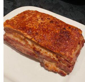 Lara (8) - Cracking pork dish